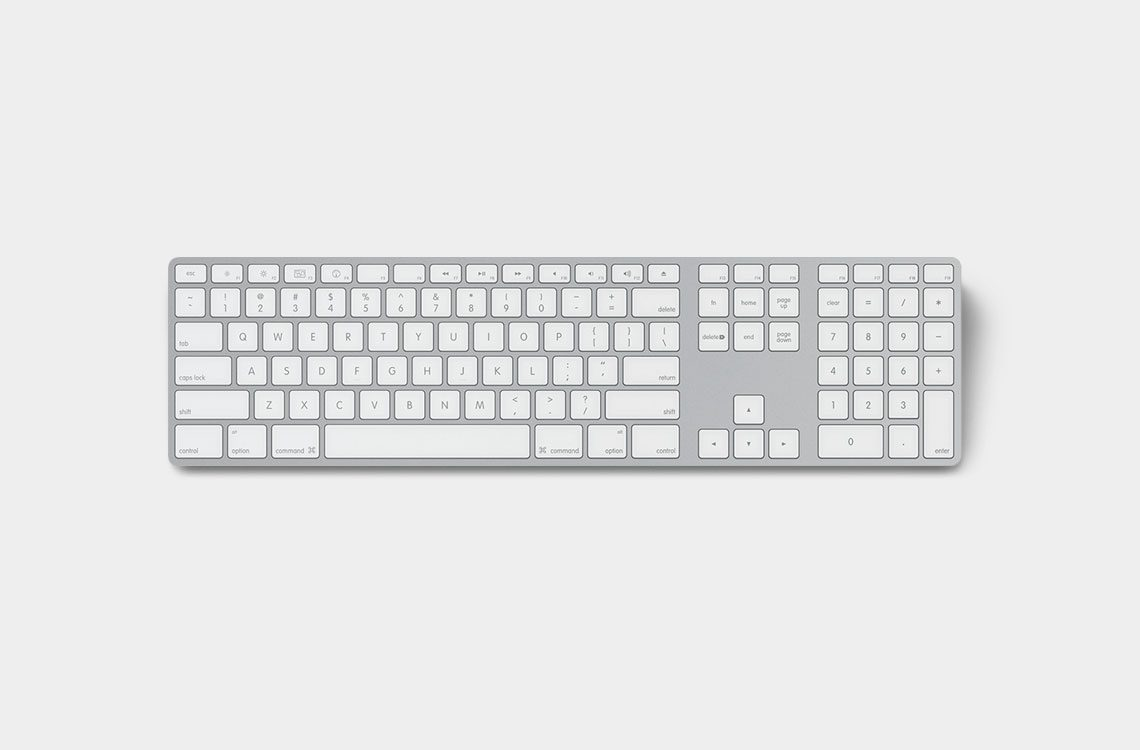 صفحه کلید اپل